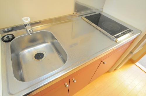 レオパレスTYK壬生 107号室のキッチン