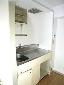 第2正美堂ビル 601号室のキッチン