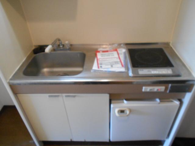 パラドール西院・パートⅡ 203号室のキッチン