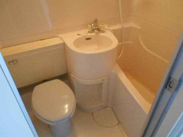 パラドール西院・パートⅡ 203号室の風呂