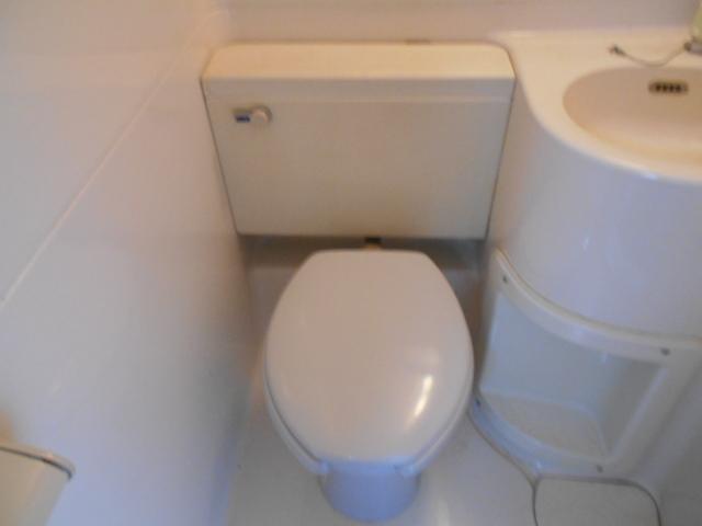 パラドール西院・パートⅡ 203号室のトイレ