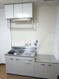 パレス神宮 2C号室のキッチン