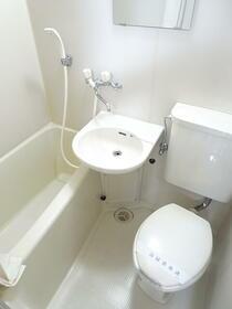 パレス神宮 2C号室の風呂