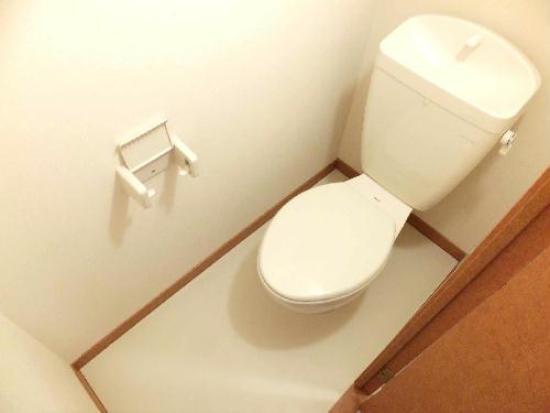 レオパレスアルモニ1番館 206号室のトイレ