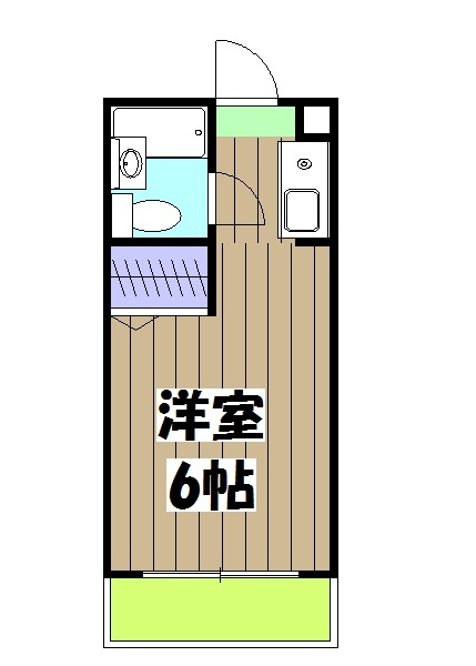 KIND(EN)Ⅱ・309号室の間取り