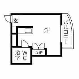 プレアール京都六地蔵・302号室の間取り