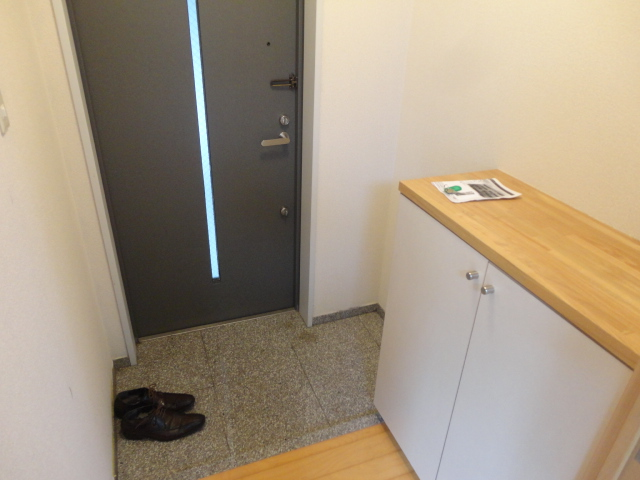 ランブラス桂水築町 108号室の玄関