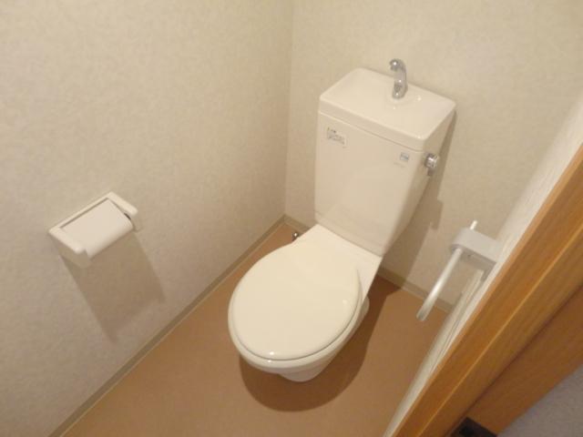 ランブラス桂水築町 108号室のトイレ