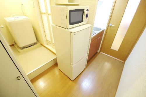 レオパレスフローレス州見台 206号室のキッチン