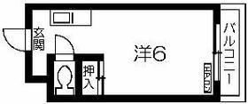 アヴェニール佐藤・203号室の間取り