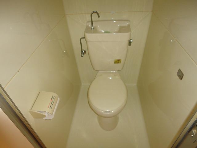 アクティハイム壱番館 103号室のトイレ