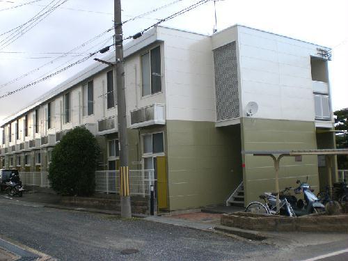 レオパレスボヌール 104号室の外観