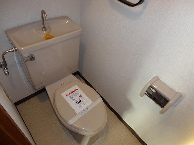 レトロマンションⅣ 202号室のトイレ