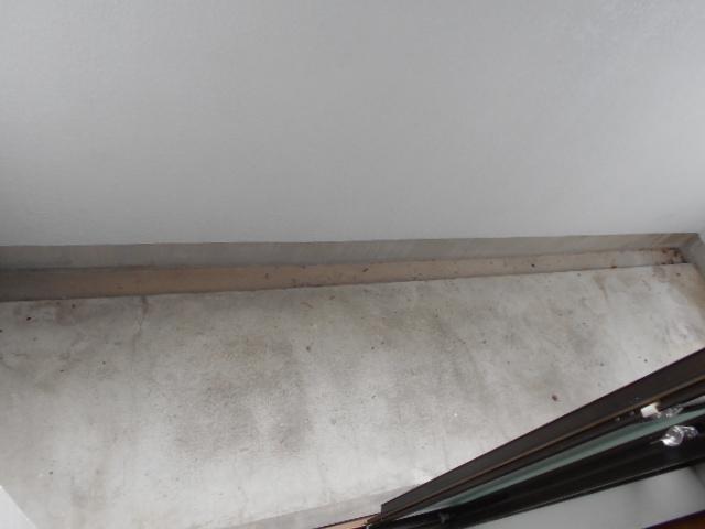 グランディール嵯峨 107号室のバルコニー