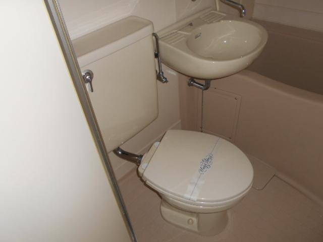 グランディール嵯峨 107号室のトイレ