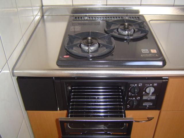 津田くにみ谷'08 103号室のキッチン