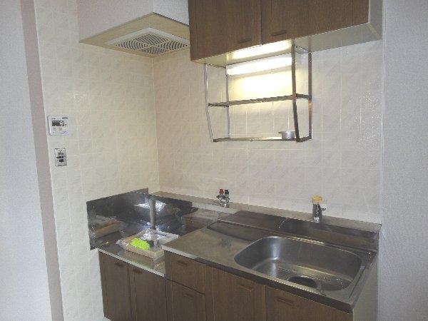 アメニティ45 B105号室のキッチン