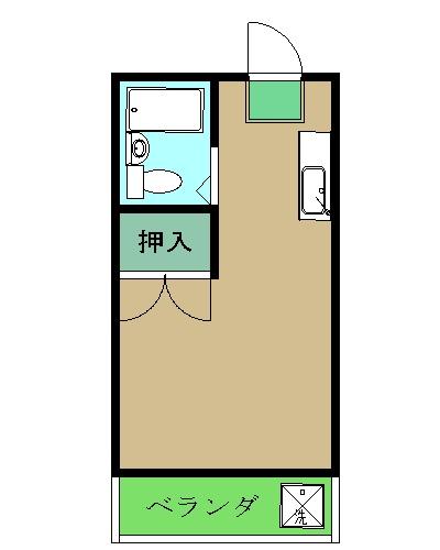 第3エコーマンション・463号室の間取り