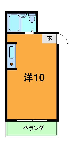 RIN,Sコーポラティヴハウス 203号室の間取り