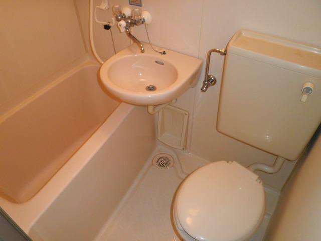 ラフォーレ助松 4B号室の風呂