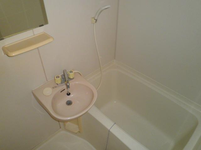 池上コーポ 202号室の風呂