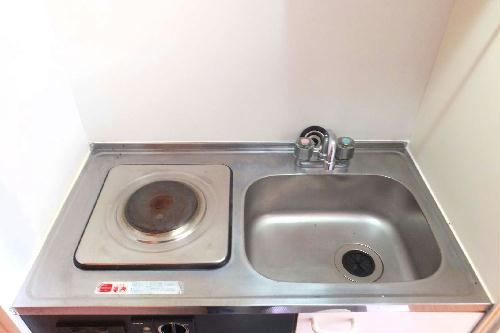 レオパレスFUKUMURAⅡ 101号室のキッチン