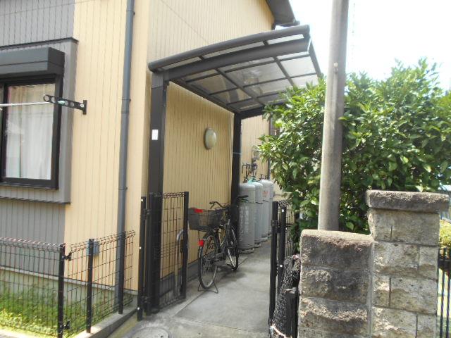 原町田ハウスメント 203号室のバルコニー