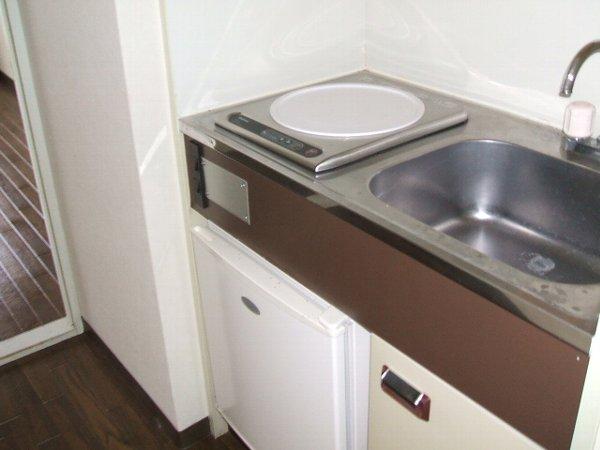 ユウパレス穴田 3E号室のキッチン