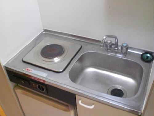 レオパレスFUKUMURAⅢ 203号室のキッチン