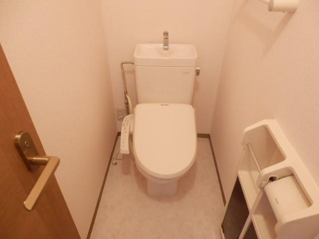 ロイヤルガーデン参番館のトイレ