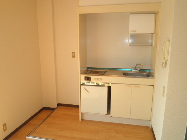ウェルフェアー光明 403号室のキッチン