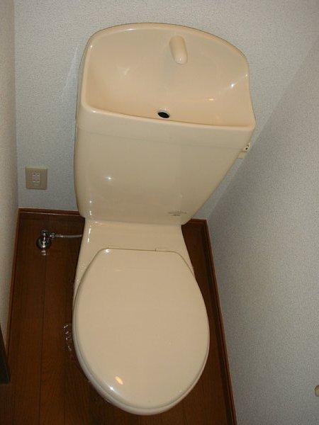 アンプルール リーブル サン・ステージ 103号室のトイレ