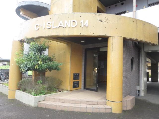 C・ISLAND14 601号室のエントランス