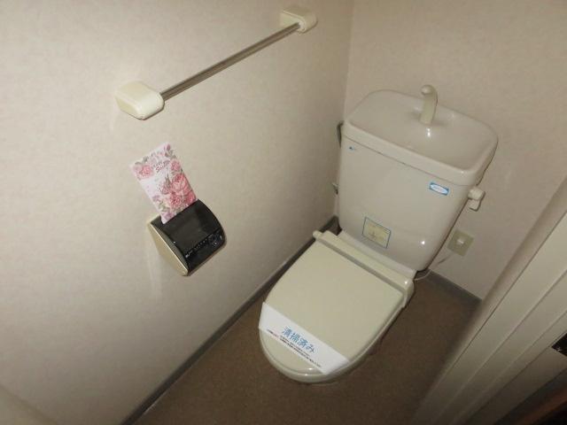 C・ISLAND14 601号室のトイレ