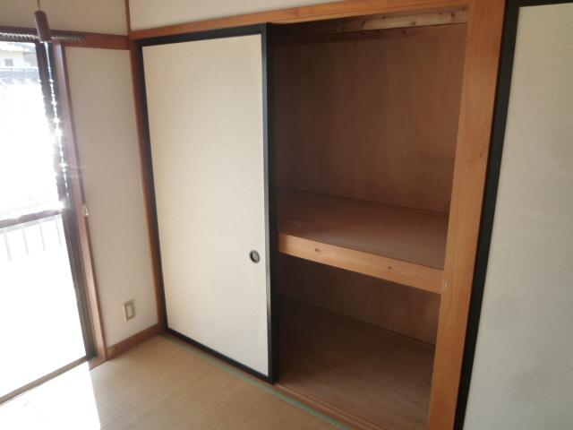 竹ノ下コーポB 3号室の収納