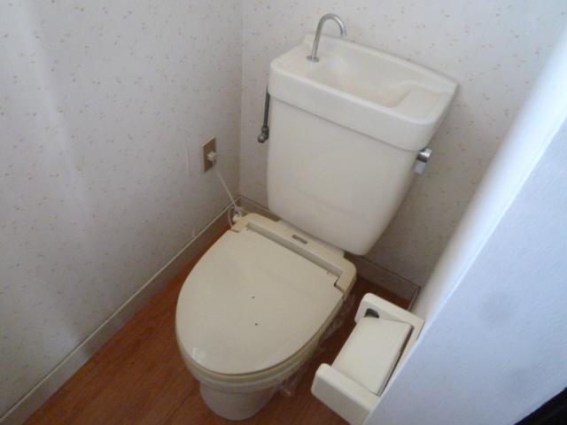 竹ノ下コーポB 3号室のトイレ