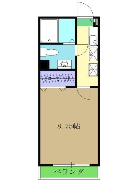 サァラ多摩平・103号室の間取り