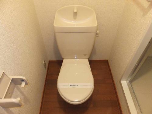 レオパレスリーヴァ 205号室のトイレ