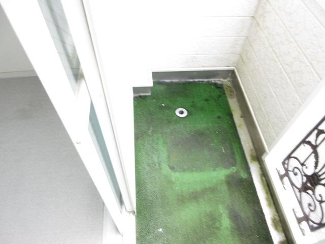 カーサ井原 202号室のバルコニー