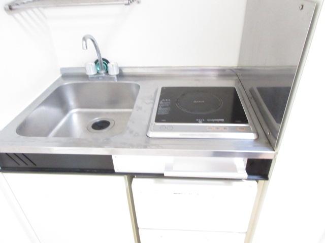 カーサ井原 202号室のキッチン
