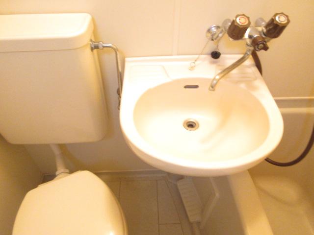 カーサ井原 202号室の洗面所