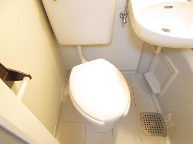 カーサ井原 202号室のトイレ