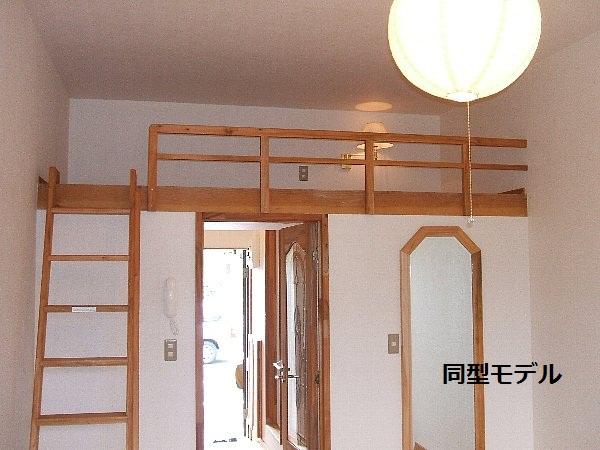 セザンヌ大岩 213号室のベッドルーム