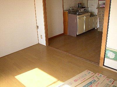 富田ハイツ 307号室のリビング