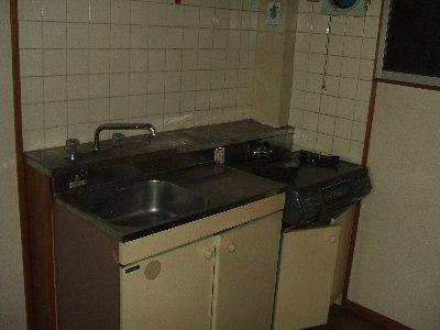富田ハイツ 307号室のキッチン