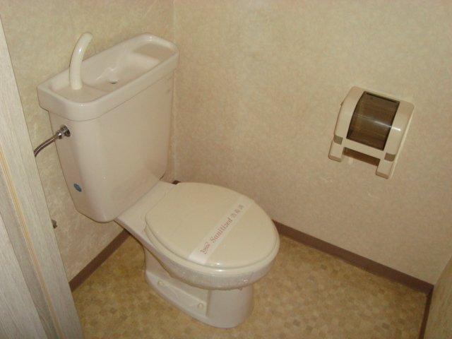 ラメゾンドゥソレイユ 101号室のトイレ