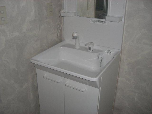 レジデンス伊藤 00202号室の洗面所