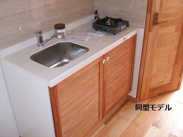 セザンヌ原町3 205号室のキッチン