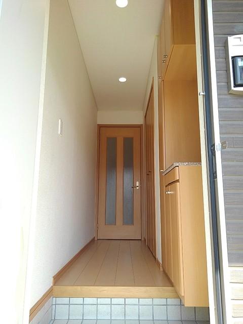 プリムローズ イースト 01020号室の玄関