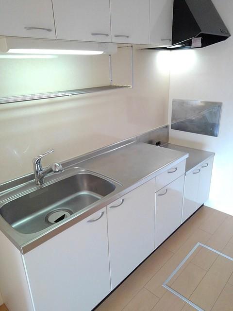 プリムローズ イースト 01020号室のキッチン